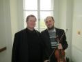 S regenschorim Josefem Kšicou