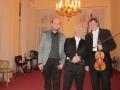 S Petrem Chromčákem a Vítězslavem Ochmanem