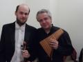 S mistrem panovy flétny Ulrichem Herkenhoffem
